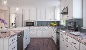 white shaker kitchen cabinets backsplash how to install a kitchen backsplash in 10 steps the rta store