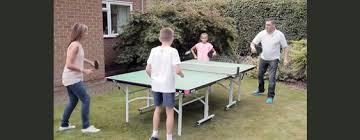 butterfly outdoor rollaway table tennis easifold outdoor rollaway table butterfly table tennis