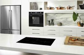 kitchen design marble backsplash white bright kitchen marble backsplash white bright kitchen contemporary cabinet wall open shelving ceramic induction cooktop wooden cutting baor butcher block over solid