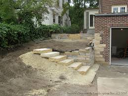 complete backyard renovation installing natural stone s u2026 flickr