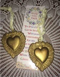 gold pewter sacred metal ornaments inspiring