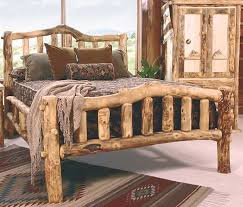 best 25 log bed ideas on pinterest log bed frame timber bed