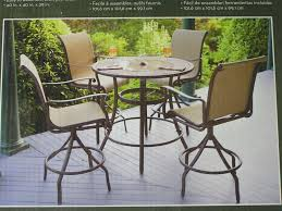 Glass Top Patio Table And Chairs Patio Ideas Patio High Top Patio Sets Outdoor Bar Height Bistro