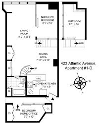 Gracie Mansion Floor Plan by A True Loft At Brooklyn U0027s Former Ex Lax Factory Asks 875k 6sqft