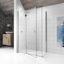 kudos 8 left hand hinged shower enclosure 1200 x 760