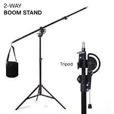 studio light boom stand 2 way boom arm stand tripod sandbag continuous light kit for studio