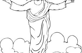 coloring page of jesus ascension jesus ascension coloring page coloring pages for boys coloring pages