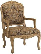 Wooden Frame Armchair Solid Wood French Country Chairs Ebay