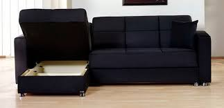 Black Microfiber Sectional Sofa Fancy Black Microfiber Sectional Sofa With Rainbow Storage