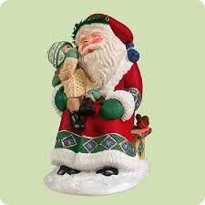 hallmark ornament sittin on santas 2004 records a childs voice