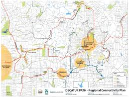 Atlanta Bypass Map Decatur Commission To Vote On Path Plan For 9 2 Miles Of Ped Bike