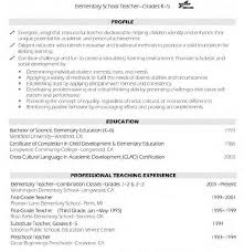 teaching resume template resume template best of impressiveples archaicawful exles