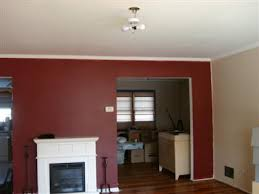2 colors of paint in 1 room any pics