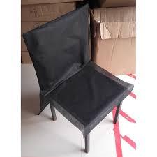 housse de chaise jetable pas cher housses de chaise pas chères noir dragée d amour