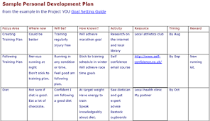 doc 699943 personal improvement plan template u2013 performance