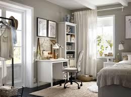 schreibtisch im schlafzimmer heimarbeitsplatz inspiration ideen ikea