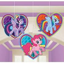 my pony centerpieces my pony friendship birthday party supplies ideas