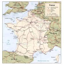Map South Of France by Map Of France