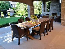 Reclaimed Dining Chairs Reclaimed Wood Trestle Dining Table With Wicker Dining Chairs