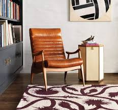 the hans leather chair