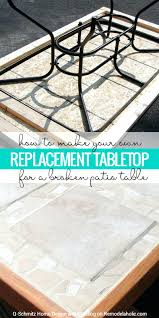 Martha Stewart Patio Table Glass Replacement Patio Table Top Replacement Parts Martha Stewart Glass Furniture