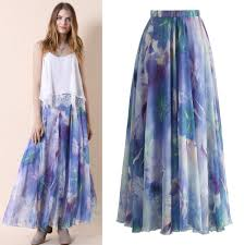 wholesale 2016 autumn fall fashion women long skirt high waist