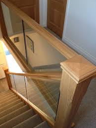 Glass Banister Uk Staircases A Wood Idea Oak Glass Glass Stairs