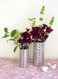 Tin Flower Vases 26 Diy Vases That Every Nook Of Your House Will Thank You For