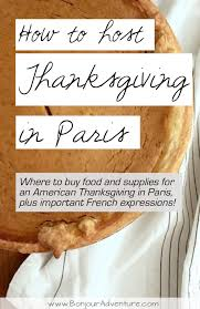 how to host an american thanksgiving in bonjour adventure
