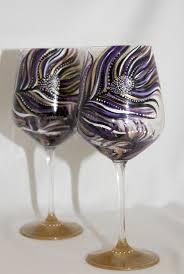 wine glass painting decorated wine glass painting decorated wine glass ideas u2013 home