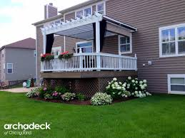 pergolas u2013 outdoor living with archadeck of chicagoland
