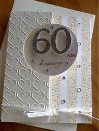 cadeau 60 ans de mariage ancolies favorite scrap carte anniversaire de mariage noces de