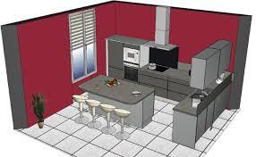 peinture murs cuisine cuisine blanc mur fushia idées décoration intérieure farik us