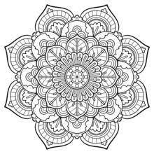 Best Lotus Mandala Coloring Pages Free 182 Printable Coloringace Com Mandala Flowers Coloring Pages