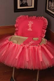 tutu chair covers home diy highchair tutu