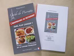 livre de cuisine française en anglais