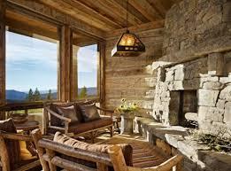 decoration maison de luxe maison rustique entièrement en bois au montana u2013 états unis