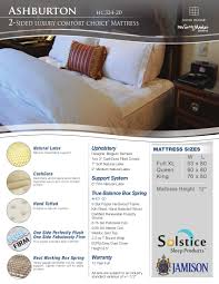 Eco Mattress Topper 2 5 Hospitality Collection A Jamison Bedding Matress Collection