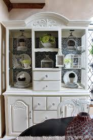 Decorating A Hutch How To Shop Your Home A Three Month Decorating Challenge Part 3