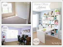 How To Decorate A Home Office On A Budget Home Office Makeover Reveal Two Twenty One