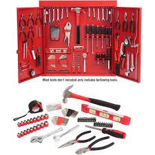 hyper tough 151 metal wall cabinet tool kit walmart
