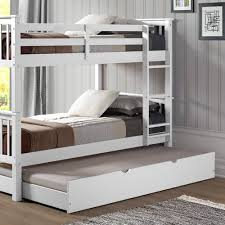 Espresso Twin Trundle Bed Walker Edison Furniture Company White Solid Wood Twin Trundle Bed