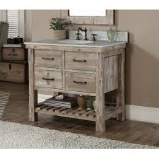84 Inch Bathroom Vanities by Rustic Style Quartz White Marble Top 36 Inch Bathroom Vanity