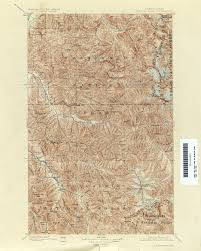Glacier Park Map Washington Historical Topographic Maps Perry Castañeda Map
