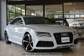 audi rs7 used used 2014 audi rs7 sportback for sale yw501527 be forward