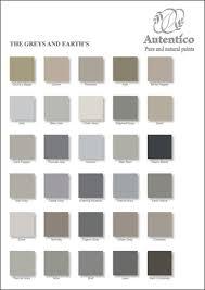 palette de couleur peinture pour chambre gris et tons terres les nuanciers autentico peintures