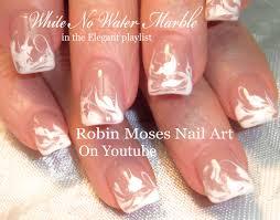 robin moses nail art no water marble nail art design tutorial