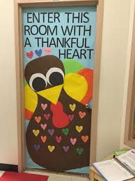 door decorations backyards our version thanksgiving door decoration classroom