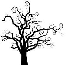 clip art spooky tree clip art