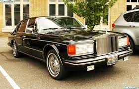 rolls roll royce car rolls royce silver spirit 1990 02